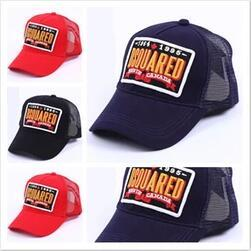 Wholesale Unisex Shades - Cheap Wholesale Free shipping New cotton shade dsq hat casual trucker Sun hat d2 baseball cap man woman DSQ baseball cap