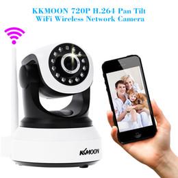 Wholesale Hd Webcam Onvif - HD 720P Wireless IP Camera Wifi Night Vision Camera IP Network Home IR Cut Security Camera CCTV P2P Onvif P T Webcam