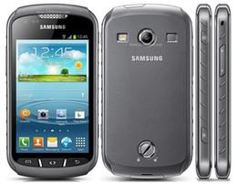 Teléfonos celulares android 1 gb ram online-Teléfono celular desbloqueado Samsung Galaxy Xcover 2 S7710 original de doble núcleo Ram 1GB Rom 4GB 5MP pantalla táctil de 4.0 pulgadas