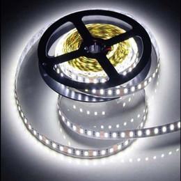 Wholesale 12 Led Strip Yellow - Wholesale-12 V 120 LED m 5 m  lot 2835 LED strip flexible light white warm white green yellow red blue 2835 non-waterproof led strip