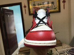 Wholesale X Cork - Basketball Shoes 1s High OG 1X WHITE x AA3834-101 Chicago Men Athletic Sport Shoes Drop Shipping Ship With Box