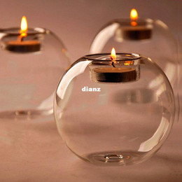 glass crystal bowl decoration Coupons - NO Candle Fashion Hot Classic Crystal Glass Candle Holder Wedding Bar Party Home Decor Candlestick