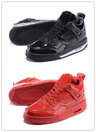 Wholesale Good Pig - Air Retro 4lab11 Eminem Red Black Brand Men Women Basketball Shoes Cheap Good Quality Street Fashion Size 5.5 13 Free Shipping Wholesale