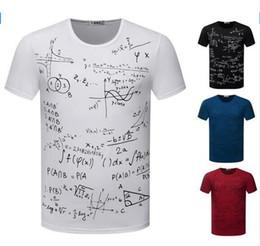 Wholesale Formula Black - Free Shipping New Abstract Formula Shirts Men T Shirt O Neck Short Sleeve 4 Colors 5 Sizes Sport Fashion Tops Tees TX87