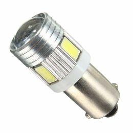 1 pcs 5730 5630 T4W BA9S 120LM 1.2 W 6 SMD Car Auto LEVOU Super Interior Interior Cauda Cauda Lâmpada Lâmpada Lustre 6000 K-6500 K DC12V cheap ba9s lamp bulb de Fornecedores de bulbo de lâmpada de ba9s