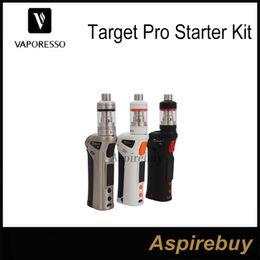 Wholesale Vaporesso Target Vtc 75w - Vaporesso Target Pro Starter Kit 75W TC Kit Update from Target 75w VTC Kit Target Pro Mod Tank More Output Modes Firmware Up-gradable Genius
