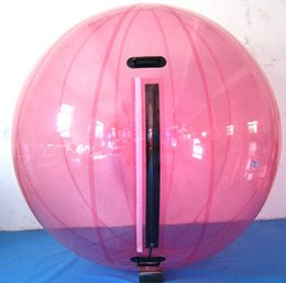 Wholesale Tizip Ball Water - Water Walking Ball 2M Diameter 0.8mm PVC Inflatable Ball Children And Adults' Toy Playing On The Water