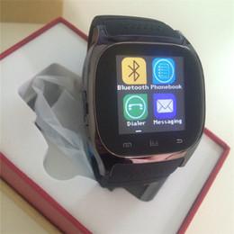 Wholesale Waterproof Watches Cheap - Cheap Price M26 Smartwatches For iPhone Samsung Android Phones With Real Altimeter Smart Wrist M26 Bluetooth Smart Watch