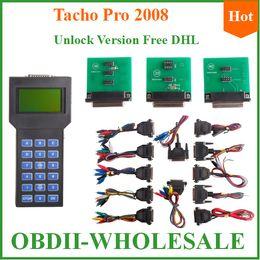 Wholesale Tacho Pro Best Price - Wholesale-Best price 2008 tacho pro auto odometer programmer tacho pro 2008 UNLOCK version one year warranty offer