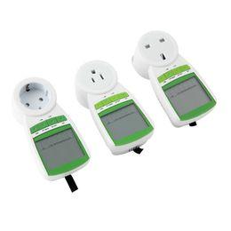 Wholesale Electricity Energy Watt - Wholesale UK Plug Power Energy Watt Volt Amps Meter Analyzer Electricity monitor 230V 50Hz