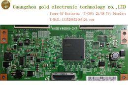 Wholesale Lcd Board Tv Parts - Original CMO logic board V460H1-CH7 T-CON board CTRL board Flat TV Parts LCD LED TV Parts