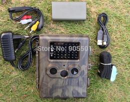 Wholesale Trail Camera Battery - SunTek HT-002LIM Lion Battery 12MP HD IR Wildlife GPRS MMS Hunting Trail Camera free shipping