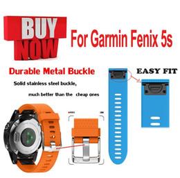 banda intelligente di garmin Sconti Sostituzione sostituzione rapida Silicagel Smart Band Bracciale da polso per Garmin Fenix 5 5S 5X GPS