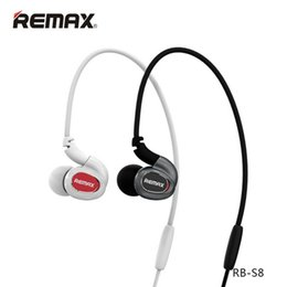 Wholesale-original Remax S8 motion headset 4.1 stereo headset microphone headset mobile phone pendant cheap remax bluetooth от Поставщики remax bluetooth
