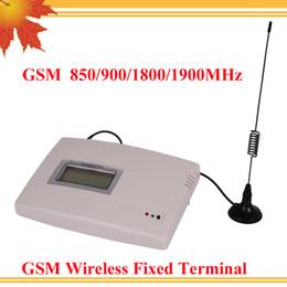 Canada Vente chaude station de radio fixe GSM 850/900/1800 / 1900MHz GSM terminal fixe sans fil GSM force industrielle GSM FWT Offre