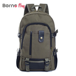 Wholesale Vintage Casual Canvas Backpack - Wholesale-2016 hot sale Vintage Style Canvas Men Backpacks Unisex Travel Bags Casual Backpack Outdoor Design School Backpacks
