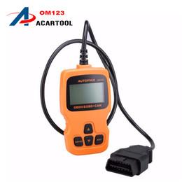 Wholesale Obd2 Scanner Tester Nissan - New AUTOPHIX OBDMATE OM123 CAN OBD2 OBDII EOBD Engine Code Reader Hand-held Tester Scanner Auto Car Vehicle Diagnostic Scan Tool