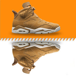 Wholesale Newest Low Cut Basketball Shoes - (With Box) 2018 Newest High quality 6 6s wheat Men's Basketball Shoes Sneakers 6s Basket ball Shoe Sports sneaker Size 7-13