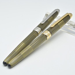 Wholesale Unique Fountain Pens - unique design 163 Roller ball pen   Fountain pen school office stationery luxury Writing ink pens Gift M8