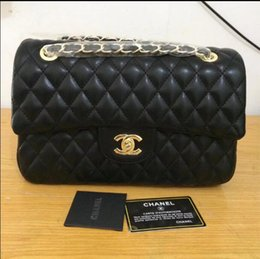 Wholesale Acrylic Chains - AAAA 2017 channel bag Free Shipping New brand ladies handbag high quality chain bag lady messenger bag, messenger bag, shoulder bag,