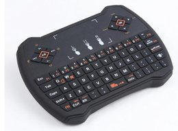 2019 беспроводная клавиатура stb Rii i28-1 K28-1 V6a R6 мини беспроводная клавиатура 2.4 G с сенсорной клавиатурой для MXQ Pro M8S S905 Android TV Оптовая