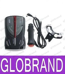 Wholesale Car Cobra - Full Band Car Radar Detector XRS 9880 High Performance Laser Detectors with Russian   English Voice OEM Cobra Car Speed Detector GLO646