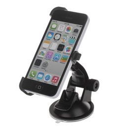 Wholesale Iphone 5s Car Charger Holder - Shenzhen factory wholesale high quality 360 Degree Rotation car phone Holder Mount Bracket H01 Suction Cup for Iphone 5C 5S - Black
