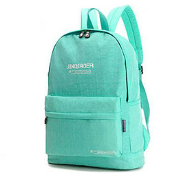 Wholesale Waterproof Cell Phones For Sale - 2015 New Women Limited Hot Sale Zipper Backpack Female Kip Style Solid Color Fashion Nylon Waterproof School Bags For Teenagers