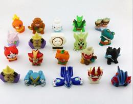 Wholesale Toy Plastic Watches - New Arrival 10pcs lot Japanese Anime Yo-Kai Watch Yokai Youkai 4-5CM Action PVC Figures Kids Toys JIBANYAN SHURAKOMA SHMOOPIE