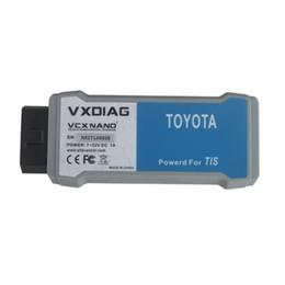 Wholesale Toyota Techstream J2534 - VXDIAG VCX NANO for TOYOTA TIS Techstream V10.30.029 Compatible with SAE J2534 Car Diagnostic Tool