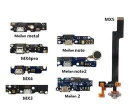 Wholesale Original Meizu Mx2 - Wholesale-Original Usb Plug Charging Charge Board & Microphone For Meizu Pro 5   MX2   MX3   MX4   MX4 Pro MX4PRO   MX5 + Tracking Cord