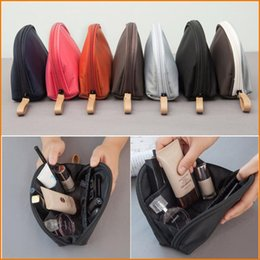 Wholesale Choice Travels - Zipper Handy Cosmetic Pouch Case Clutch Makeup Bag For Women, Organizer Toiletry Storage Travel bag - 6 Colors for Choice