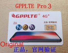 Wholesale Iphone 5c Original - Free DHL Original GPPLTE PRO 3 Unlock for ios 11.2 iPhone5S 5C 6 6S SE 7 7P 8 8P X RSIM ONESIM