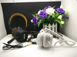 Wholesale Dj Noise Cancelling Headphones - Hot Marshall Major 1 generation DJ Studio Headphones Deep Bass Noise Isolating headset Monitorring With Mic&Remote Stereo Earphones earbuds