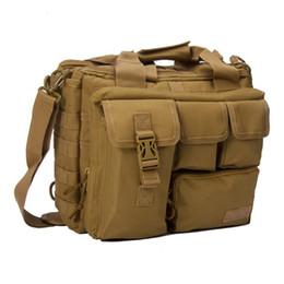 Wholesale Man Camera Bags - Men'S Travel Sling Bags Shoulder Outdoor Sport Molle Rucksack Laptop Computer Camera Mochila Tactical Messenger Handbags Satchel Crossbody