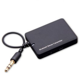 Wholesale Cheap Transmitter - DL-LINK mini 3.5mm General Interface Bluetooth wireless audio transmitter New High Quality Cheap wireless pager
