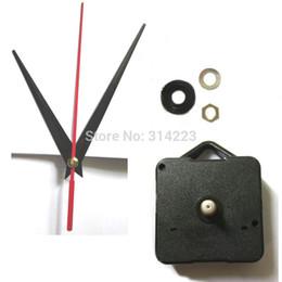 Argentina Venta al por mayor Accesorios para el hogar 10set Scan The Mute Reloj de cuarzo Movimiento Kit Husillo Mecanismo Eje 13mm Jg002 cheap quartz clock movement kit wholesale Suministro