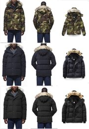 Wholesale Rain Duck - goose down jacket men's thicken wind proof keep warm rain proof short goose down winter coats 4 colors available