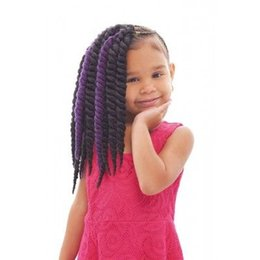 Wholesale Brown Curly Hair Extensions Weft - Best Seller of Havana Mambo Twist Crochet Braid Hair 12'' crochet braids senegalese Twists Braiding Hair Extension Free Shipping Brazilian