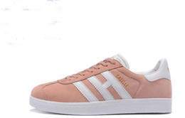 Wholesale Pop Fabric - 2018 Original Gazelle Vintage Casual Lovers Shoes Campus Pop Girl and Boy GAZELLE OG Flat Superstar Casual Sneakers