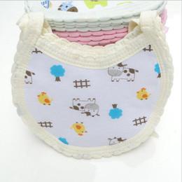 Wholesale Cute Towels For Girls - Baby Bibs Cotton Bandana Bibs Infant Babador Saliva Bavoir Towel baberos Cute Bib Bandana Infant Saliva Towels For Newborn Baby Girls Boys