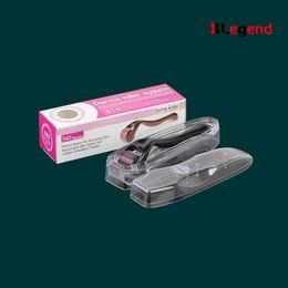 Wholesale Dermaroller For Scars - Derma Rolling System Type dermaroller 540 needle roller Scars Micro Needling Micro Needle Derma Roller for Marks Freckle Wrinkles Pores