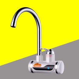 Wholesale Electric Hot Water Kitchen - ZBD3000W-24,free shipping,high quality,Indicator light Instant Hot Water,Tankless Electric Faucet,Kitchen Faucet Water Heater,with EU plug