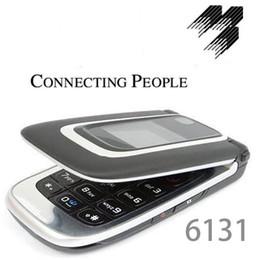 1.3MP Flip phone Camera FM cartão SIM 4 suporte por 2.2 polegadas 6131 celular com bluetooth câmera FM rádio supplier flip cell phones de Fornecedores de telefones celulares