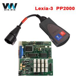 Wholesale Lexia3 Citroen Tool - Lexia-3 Lexia3 PP2000 V48 V25 Diagbox V7.83 OBD OBD2 Diagnostic Tool for Citroen Peugeot Multi-language Diagnostic Scanner