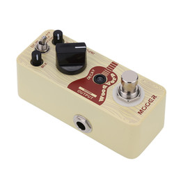 Wholesale Mooer Guitar Effects - Mooer Wood Verb Micro Mini Acoustic Guitar Reverb Effect Pedal True Bypass only for RU