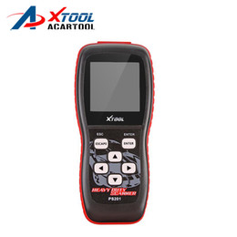 Wholesale Heavy Duty Scanners - 2016 NEW 100% Original factory Xtool PS201 Heavy Duty ps201 Code Reader scanner OBDII EOBD CANBUS Compliant Heavy truck Vehicles Diesel Tool