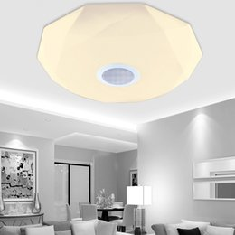 Wholesale New Arrival Modern Ceiling Light - New arrival APP Bluetooth Music LED Ceiling Light Smartphone Dimming Starjewel Light Fixture LED Modern Lighting
