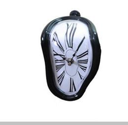 Reloj de ángulo online-Bloque creativo Relojes de mesa Reloj Twist Romano Digital Ángulo Recto Retro Deformación Reloj Relojes de Mesa Reloj Despertador Digital