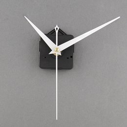 Wholesale Clocks Hand Parts - 2017 High Quality Quartz Useful Clock Movement Mechanism Parts Repairing DIY Replacement Tool Set with White Hands Silent